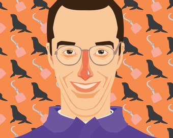 Buster Bluth Limited Edition Arrested Development Print
