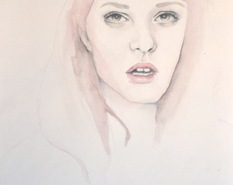 Alexis - Limited Edition A4 Watercolour Print