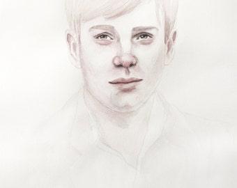 Alex - Limited Edition Watercolour Print