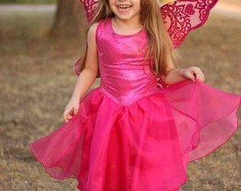 pleated princess dress stencil set pdf and dxf files for