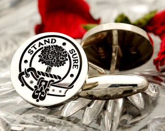 RAMC Royal Army Medical Corps Sterling Silver Cufflinks Personalised Handmade and Laser Engraved in the UK