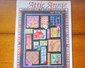 Attic Annie and Andy, Too Vintage Quilt Pattern Applique Book Free Shipping