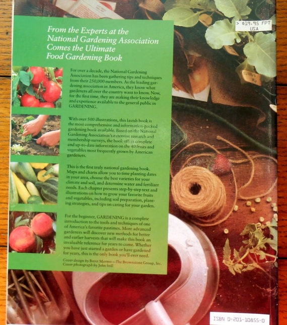 Gardening Guide to Growing Fruits & Vegetables Vintage