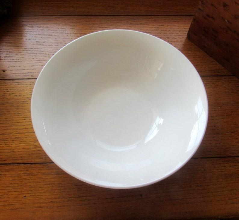 White Serving/Salad Bowl Vintage Stella Pfaltzgraff Mix and image 0