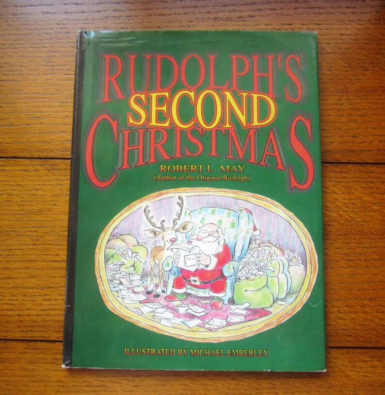 Rudolph's Second Christmas Robert May 1992 First Edition A image 0