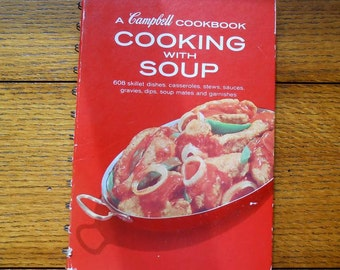 Cooking With Soup Cookbook Campbell's Soup Classic Free Shipping