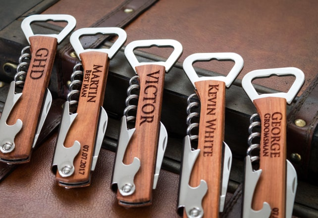 Groomsmen Gift Bottle Opener Wedding Party Gifts For Your Etsy