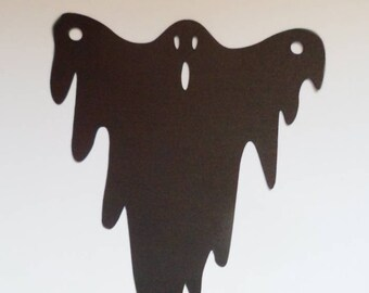 Die Cut Halloween Ghost (ready to make your own banner) 6