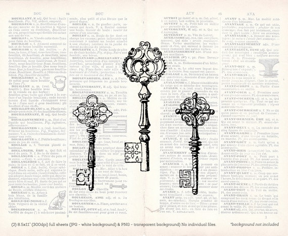 graphic about Printable Keys identified as Printable Antique Keys Typical Example Clip Artwork Sheet - Printable Artwork Antique Printable Keys Move Image - Instantaneous Down load