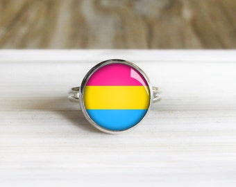 Pansexual pride jewelry