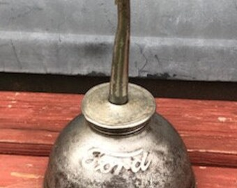 Antique oil can | Etsy