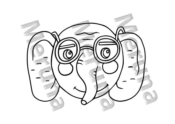 Tasha Wearing Glasses Coloring Page | Coloring pages, Cool ... | 404x570