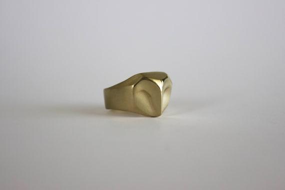 Gold owl ring, owl jewelry, barn owl ring, gold owl, owl wedding ring, owl Christmas gift
