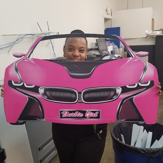 Barbie Inspired Bmw I8 Concept Car Prop File Instant Etsy