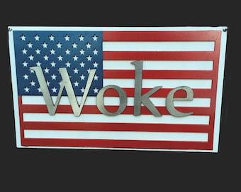 Woke Flag - Mixed Metals