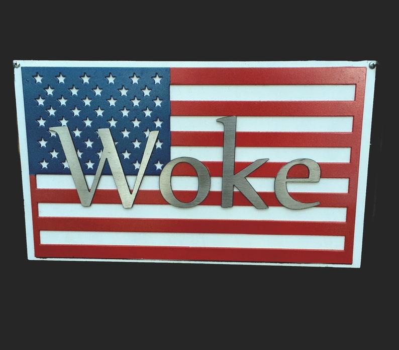 Woke Flag  Mixed Metals image 0