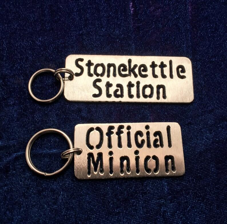 Stonekettle Keychains image 0