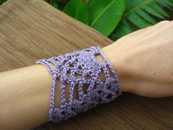 Pineapple Wrist Cuff Or Bracelet Crochet Pattern Crochet Etsy