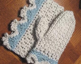 Matching crochet washcloth and bath mitt patterns // Luxe Bath Collection // Beginner crochet pattern with photo tutorial