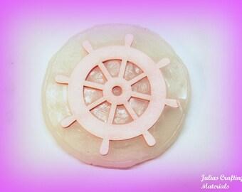Ship's wheel silicone mold