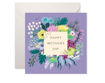 Mother's Day Lilac Greetings Card