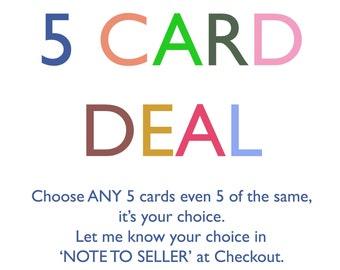 5 Card Deal