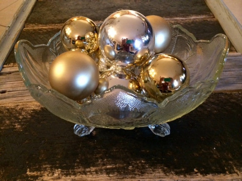 Vintage Lombardi Footed Bowl Jeanette Glass Company