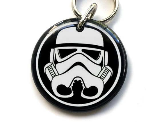 Animaux de compagnie ID tags Dog Tags chien Pet ID Tags Storm Trooper