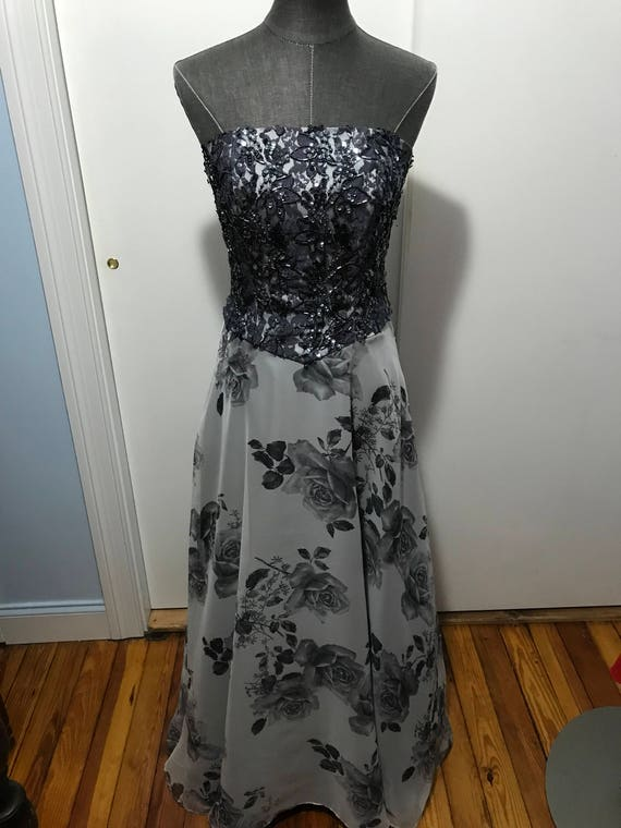 Barely Worn Jovani Beaded evening gown