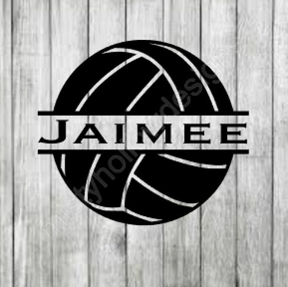 Personalized Volleyball Decal Custom Volleyball Decal