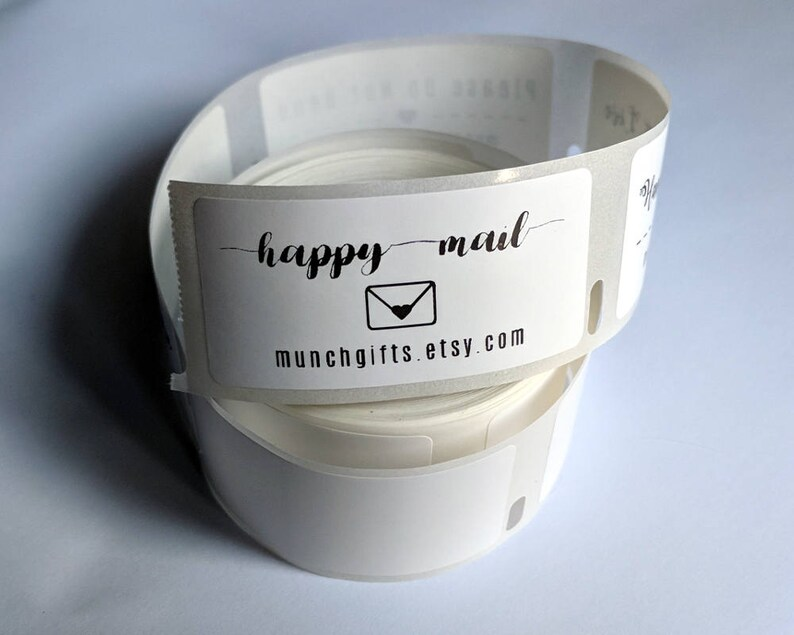 DYAD8 100-250-500 Custom Product Labels Stickers Happy Mail