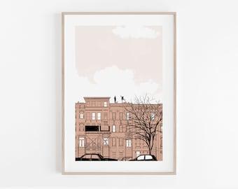 Waiting for Summer giclée print, 11x17, 5x7, modern print, home wall decor, home decor, apartment wall art, minimalism, 100% profits donated