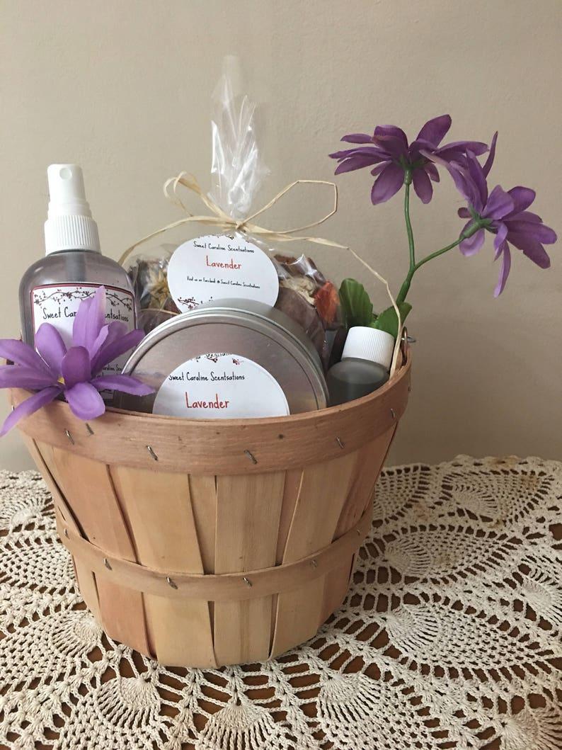 image 0 & Lavender Gift Basket / Motheru0027s Day Gift Baskets / | Etsy