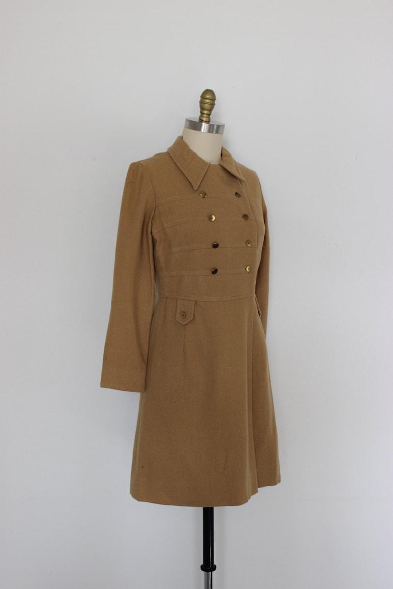 Women/'s Vintage 1960s Wool Coat
