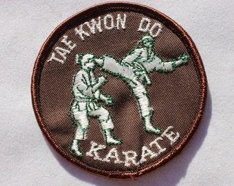 Tae Kwon Do Karate Patch