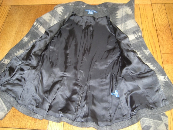 BOLERO Ralph Lauren Jacket Coat Aztec Southwester… - image 9