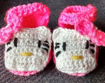 Hello kitty inspired slippers