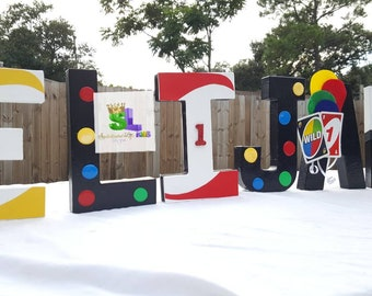 UNO Birthday Party Decorations Ideas Uno Letters