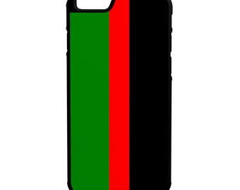 Republic Of New Afrika iPhone Galaxy Note HTC LG Protective Hybrid Rubber Hard Plastic Snap On Case Black