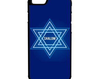 Shalom iPhone Galaxy Note LG HTC Hybrid Rubber Protective Case
