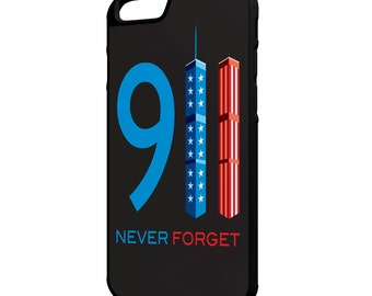 9/11 Never Forget iPhone Galaxy Note LG HTC Hybrid Rubber Protective Case