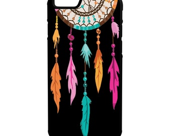 Dreamcatcher iPhone Galaxy Note LG HTC Hybrid Rubber Protective Case