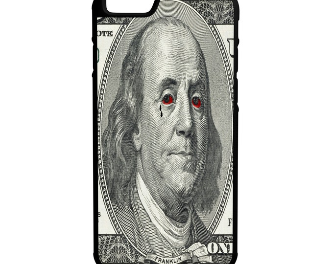 Ben Franklin Red Eyes & Tattoo iPhone Galaxy Note LG HTC Hybrid Rubber Protective Case