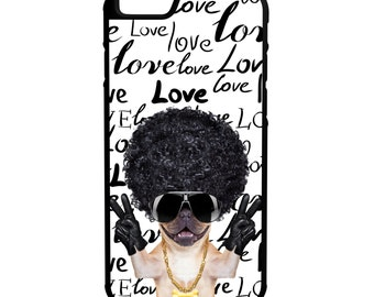 Doggy Love iPhone Galaxy Note LG HTC Hybrid Rubber Protective Case