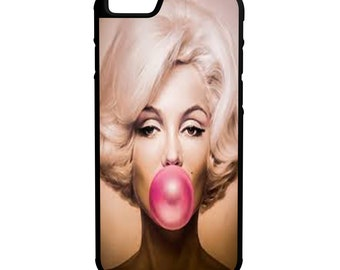 Marilyn Monroe  iPhone, Galaxy, Note, LG G4 Hybrid Rubber Protective Case