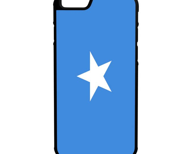 Flag of Somalia iPhone Galaxy Note LG HTC Hybrid Rubber Protective Case