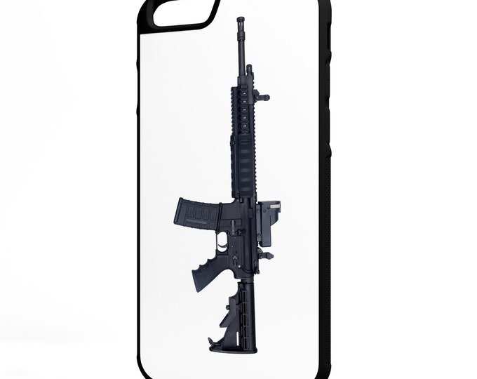 AR15 Assault Rifle Gun Rights iPhone Galaxy Note LG HTC Protective Hybrid Case