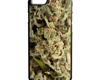 Marijuana Kush Bud  iPhone Galaxy Note HTC LG Hybrid Rubber Protective Case Trippy