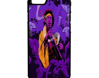 Jimi Henrix iPhone Galaxy Note LG HTC Protective Rubber Phone Case