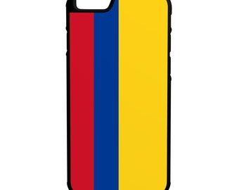 Flag of Colombia iPhone Galaxy Note LG HTC Hybrid Rubber Protective Case